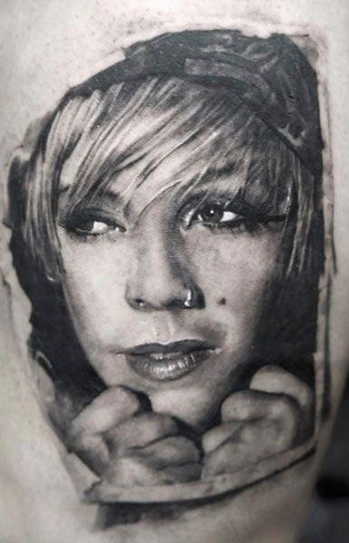 Tatuagens de retratos perfeitas 10