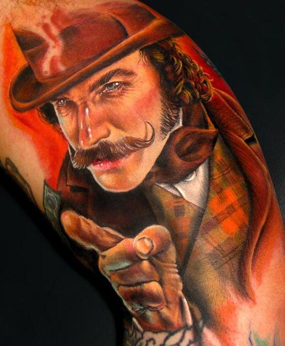 Tatuagens de retratos perfeitas 12