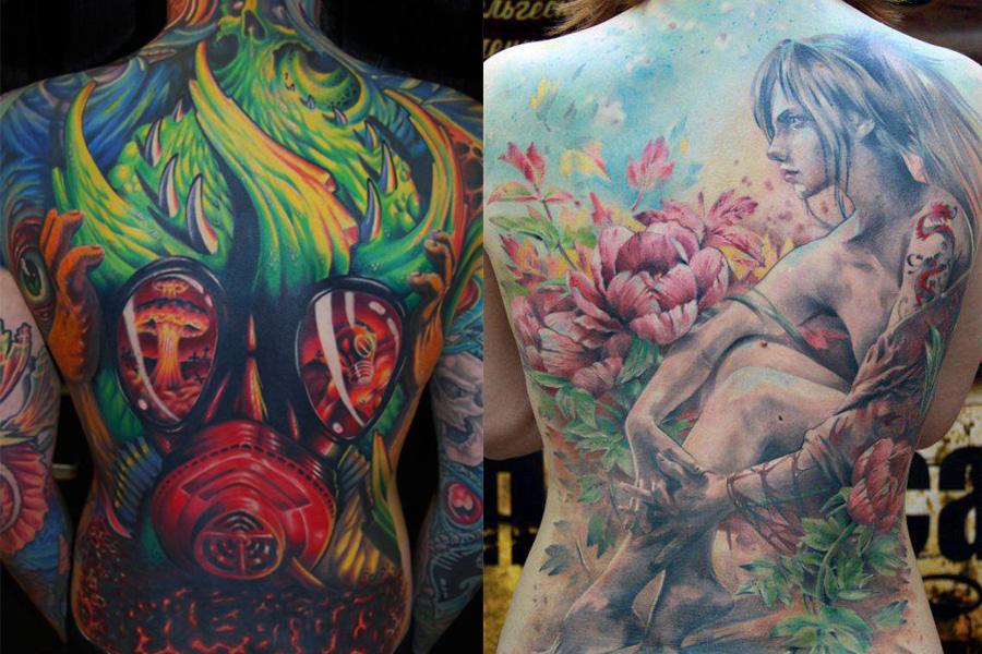 Tatuagens-nas-costas