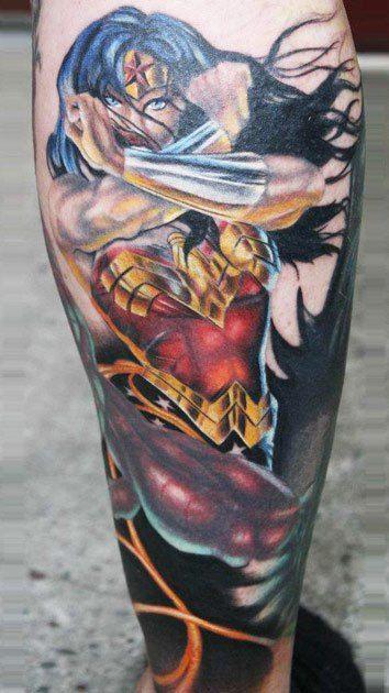 Tatuagens da Mulher Maravilha 03