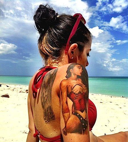 Tatuagens da Mulher Maravilha 04