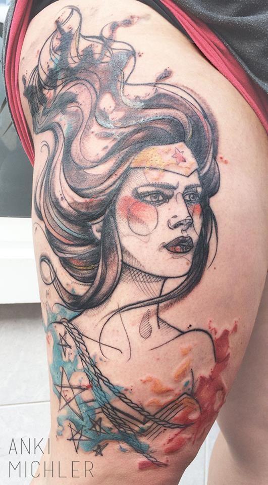 Tatuagens da Mulher Maravilha 05