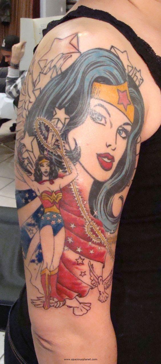 Tatuagens da Mulher Maravilha 14