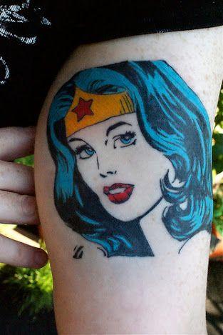Tatuagens da Mulher Maravilha 17