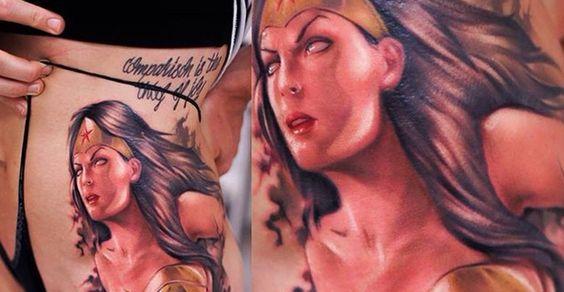 Tatuagens da Mulher Maravilha 25