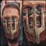 TESTEMUNHE estas tatuagens de Mad Max