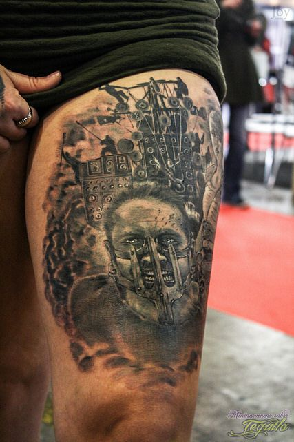 Tatuagens de Mad Max Fury Road 12