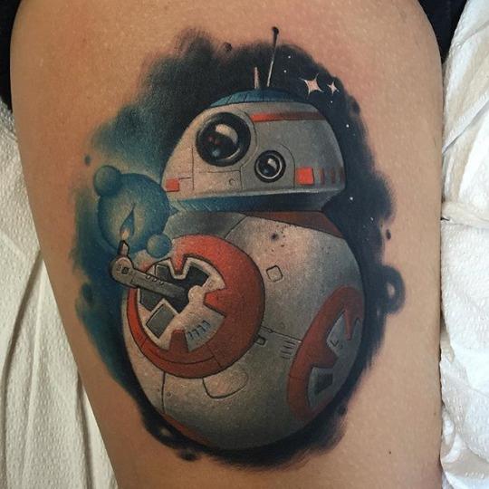 Tatuagens de Star Wars O Despertar da Forca 01