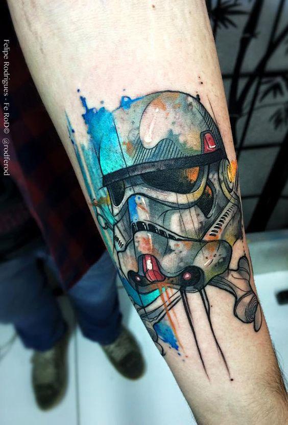 Tatuagens de Star Wars O Despertar da Forca 06