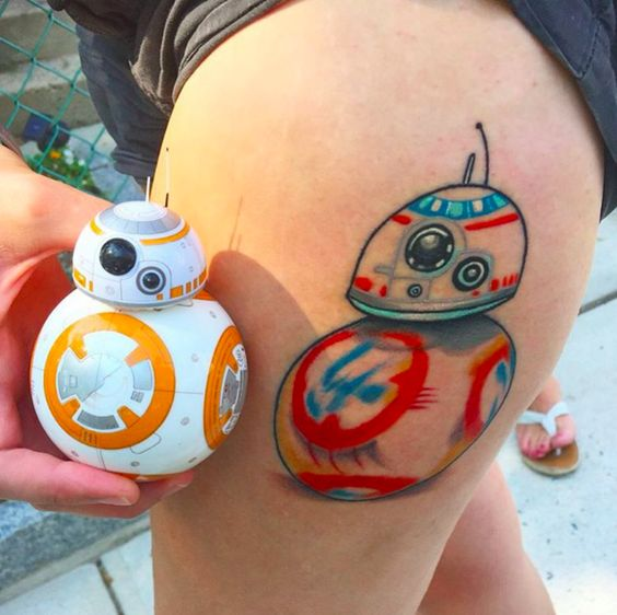 Tatuagens de Star Wars O Despertar da Forca 07