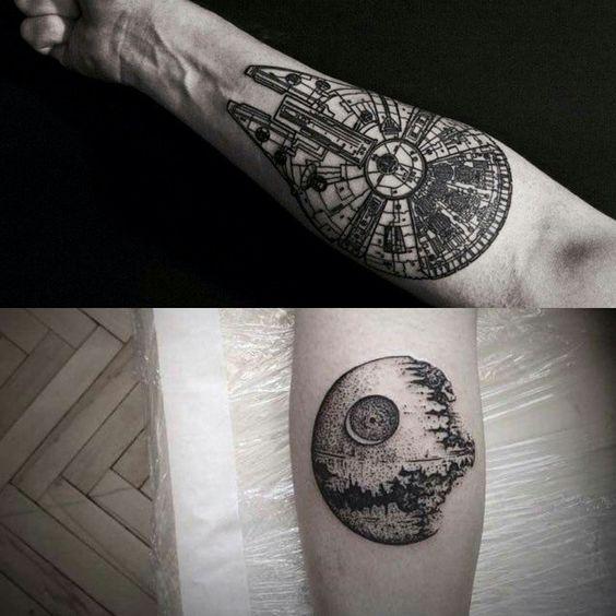 Tatuagens de Star Wars O Despertar da Forca 14