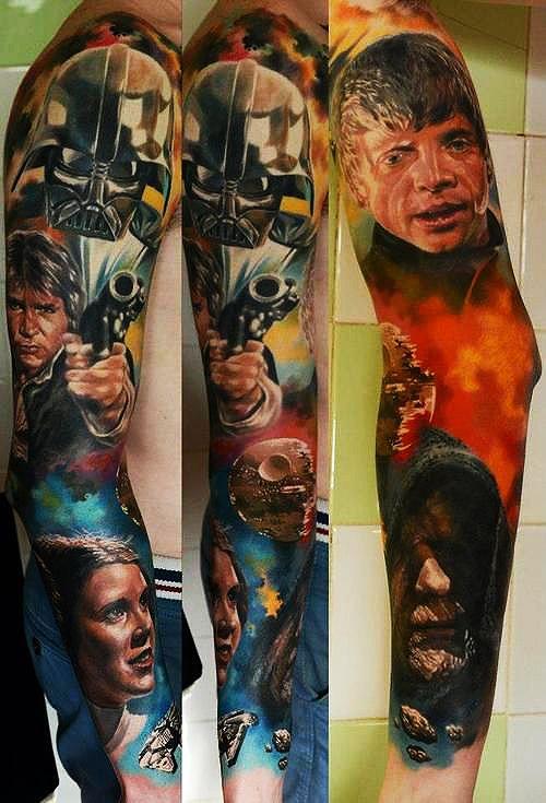 Tatuagens de Star Wars O Despertar da Forca 15
