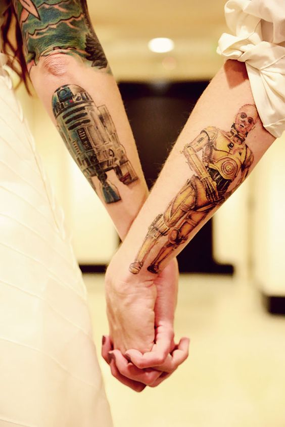 Tatuagens de Star Wars O Despertar da Forca 16