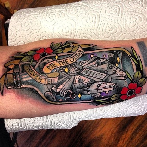 Tatuagens de Star Wars O Despertar da Forca 17