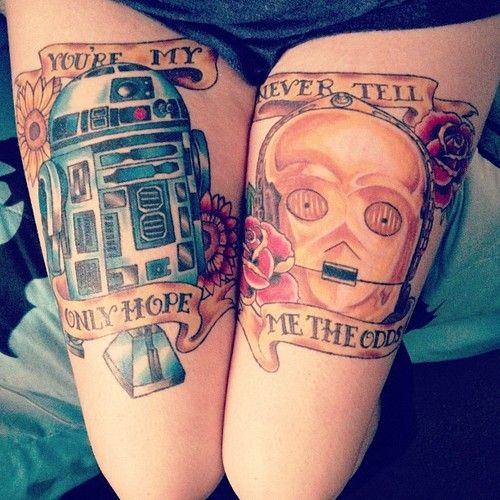 Tatuagens de Star Wars O Despertar da Forca 18