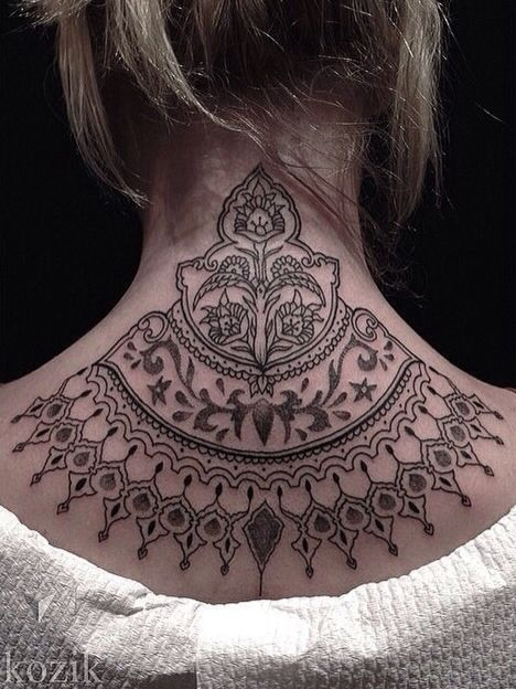 Black-Tattoo-on-Neck