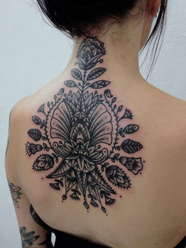 Floral-Neck-Tattoo