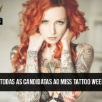 Conheça as candidatas ao Miss Tattoo Week SP 2016