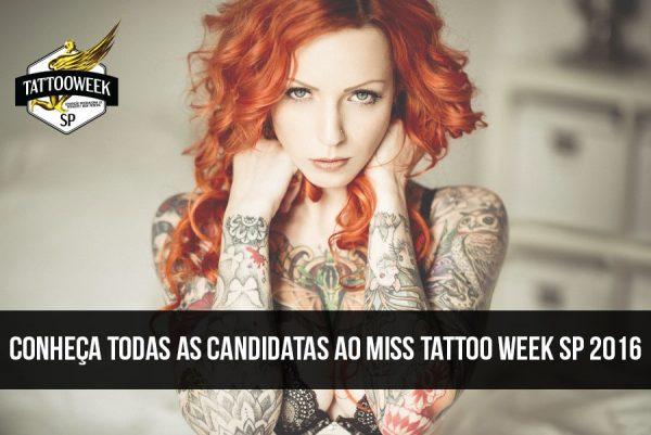 Miss Tattoo Week SP