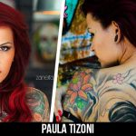 A beleza da Gibi Girl Paula Tizoni