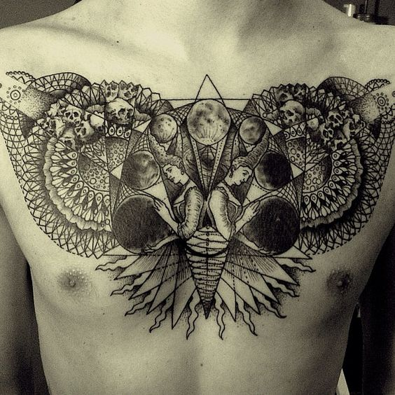 Tatuagens no Peito 08