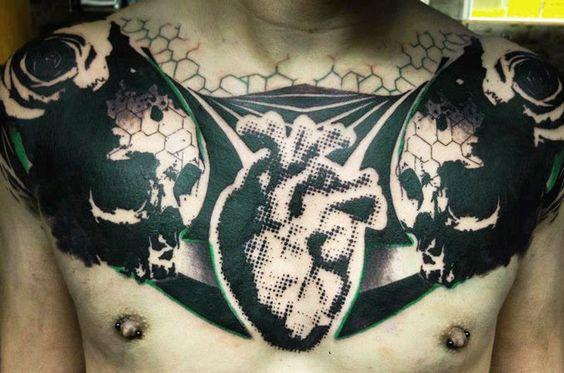 Tatuagens no Peito 21