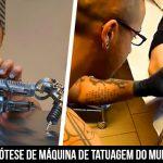 Superação: Tatuador perde o braço e ganha primeira prótese de máquina de tatuagem do mundo