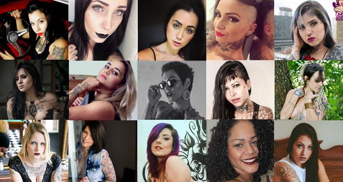 Hoje será escolhida a Mulher Tatuada mais bonita do Brasil: A Miss Tattoo Week SP