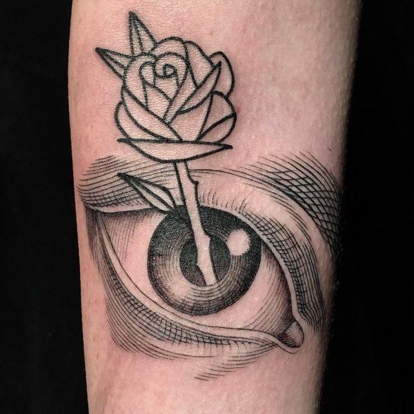 Tatuagem Surpresa por Scott Campbell