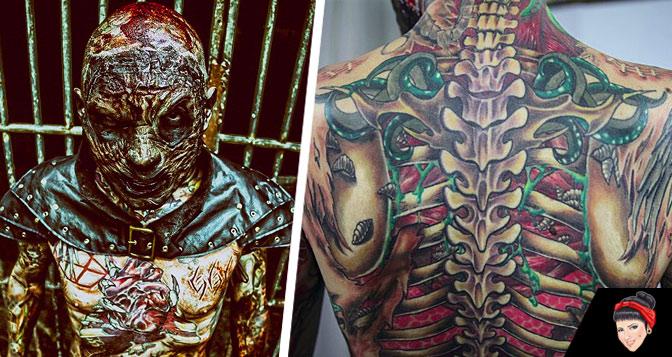 """""""Quero tatuar uma autópsia no meu corpo"""" - Conheça o Coveiro Maldito"""