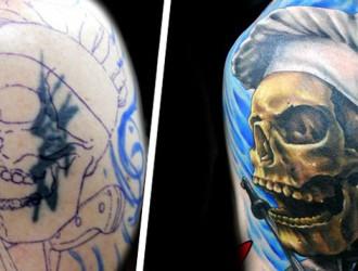 As 36 Incríveis coberturas de tatuagens que você precisa ver