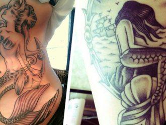Elas cantam e nos levam para o mar: O significado da tatuagem de Sereia