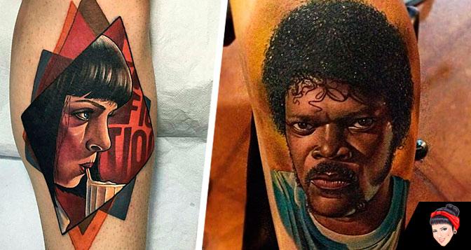 Não seja quadradão e veja estas 27 tatuagens de Pulp Fiction