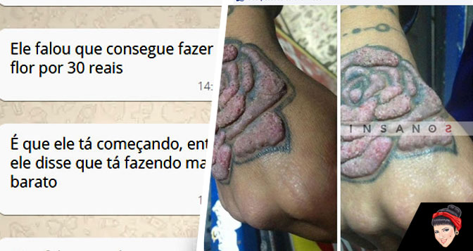 Tatuagem barata: Não caia nessa