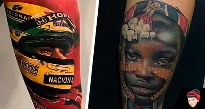 Tatuadores Brasileiros especializados em Realismo para seguir no Instagram