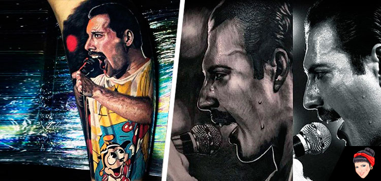 """Is This The Real Life?"" ou São 15 Tatuagens do ícone Freddie Mercury?"